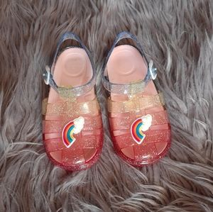 Other - Jelly Glittery Sandals For Toddler 9/10C